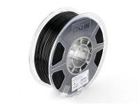Filament Printer ESUN 3D preta 1,75 milímetros PLA 1KG rolo