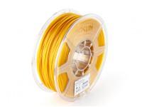 ESUN 3D 1,75 milímetros ouro Filament Printer PLA 1KG rolo