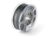ESUN 3D Filament Printer prata 1,75 milímetros PLA 1KG rolo