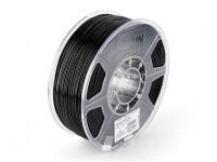 ESUN 3D Filament Printer Preto 1,75 milímetros ABS 1KG rolo