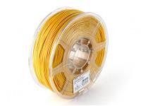 ESUN 3D 1,75 milímetros ouro Filament Printer ABS 1KG rolo