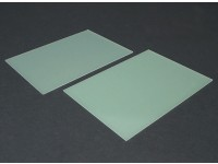 Folha FR4 Epoxy Vidro 210 x 148 x 1,5 mm (2pc)