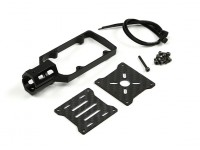 CNC Motor Mount para DIY Multi-Rotores 16 milímetros tubo (Black)