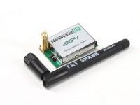 Módulo receptor de gordura tubarão Nexwave RF 2.4 GHz