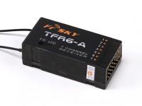 FrSky TFR6-A 7CH Receptor 2.4Ghz Futaba FASST Compatível (Horizontal Conectores)