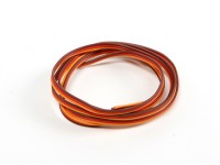 26AWG Servo fio 1mtr (vermelho / Brown / Orange)