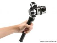 Z-1 Pround de 3 eixos Handheld estabilização Gimbal para GoPro