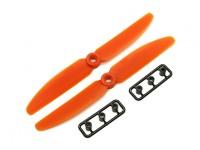 Gemfan 5030 GRP / Nylon Hélices CW / CCW Set (laranja) 5 x 3