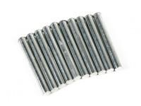 Retraem Pins para trem de nariz 5 milímetros (10 pcs por saco)