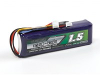 Turnigy nano-tecnologia 1500mAH LiFe 3S 9.9v Transmitter Pack (Taranis Compatible)