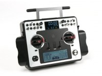Modo Sistema de Rádio FrSky 2.4GHz Taranis X9E Digital Telemetry UE Version 2 (EU Plug)