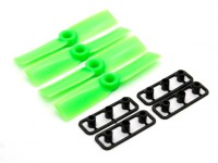 GemFan Touro Nose 3030 Hélices ABS CW / CCW Set Green (2 pares)