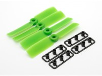 GemFan Touro Nose 3545 GRP / Nylon Hélices CW / CCW Set Green (2 pares)