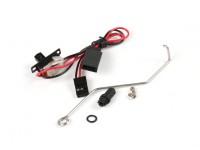 HydroPro Affinity RG65 Iate de competência - Desligue Rod w / borracha Bellow e Connector Set