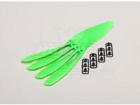 GWS Estilo Slowfly Hélice 8x4.5 Green (CCW) (4pcs)