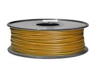 HobbyKing 3D Filament Printer 1,75 milímetros PLA 1KG Spool (ouro metálico)