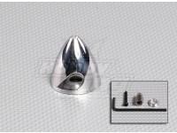 Alumínio Prop Spinner 38mm / 1.5 polegadas / 2 Lâmina
