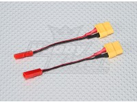 XT-60 a JST adaptador de carregamento (2pc)