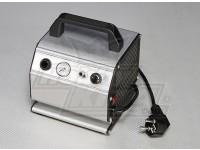 Compressor de ar com pressão ajustável e medidor de pressão