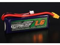 Turnigy nano-tecnologia 1600mAh 2S 25 ~ 50C Lipo pacote