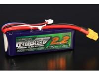 Turnigy nano-tecnologia 2200mAh 3S 45 ~ 90C Lipo pacote