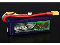 Turnigy nano-tecnologia 2200mAh 4S 35 ~ 70C Lipo pacote