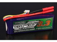 Turnigy nano-tecnologia 3300mAh 4S 25 ~ 50C Lipo pacote