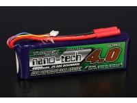 Turnigy nano-tecnologia 4000mAh 4S 25 ~ 50C Lipo pacote
