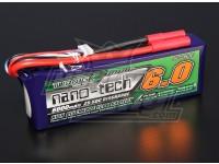 Turnigy nano-tecnologia 6000mAh 3S 25 ~ 50C Lipo pacote