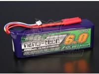 Turnigy nano-tecnologia 6000mAh 4S 25 ~ 50C Lipo pacote