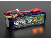 Turnigy nano-tecnologia 3300mAh 6S 35 ~ 70C Lipo pacote