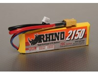 Rhino 2150mAh 2S1P 20C Lipoly pacote