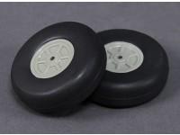 Leve Scale 55 milímetros de rodas (2pc)