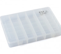 Large 24 Compartment Parts Box with Latching Lid