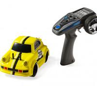 1/24 Mini Q Cartoon Car - Yellow