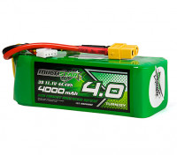 Multistar High Capacity 4000mAh 3S 12C Multi-Rotor Lipo Pack w/XT60