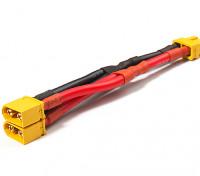 XT60 Harness para 2 Packs em 12AWG fio paralelo (1pc)