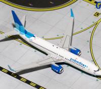 Gemini Jets Pobeda Boeing 737-800w VQ-BWH 1:400 Diecast Model GJPBD1569