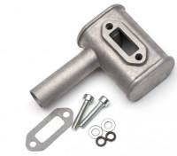 RCGF 10cc substituição do motor Gás silencioso Set (M1004)