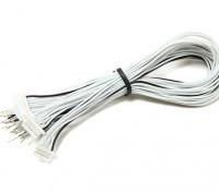 JST-SH 8Pin Masculino Plug com 200 milímetros de fio Pigtail (5pcs)