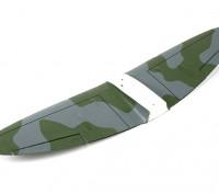 Durafly ™ Spitfire Mk5 ETO (verde / cinza) Principal Asa