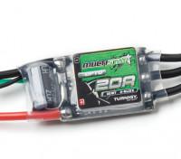 Turnigy Multistar 32bit 20A Corrida Spec ESC 6S ~ 2 (OPTO)
