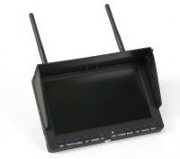 "7 ""800 x 480 LCD Monitor de FPV com built-in DVR SKY-708"