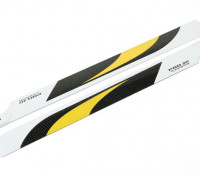 Fibra de Carbono 430 milímetros helicóptero principal Blades