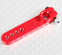 Heavy Duty Alloy 1.25in Arm Servo - JR (vermelho)
