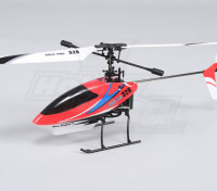 Solo Pro 328 4CH fixado pitch Helicopter - Red (RTF) EUA plug