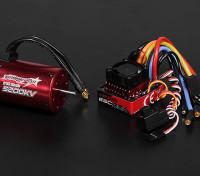 Turnigy TrackStar impermeável 1/10 Brushless Power System 5200KV / 80A