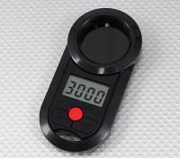 Turnigy LCD tacômetro V2 para helicópteros 800 ~ 4200rpm e avião Props 0 ~ 20000RPM