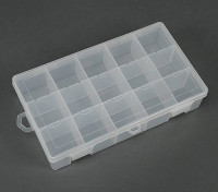 Plastic Multi-Purpose Organizer - Large 15 Compartimento