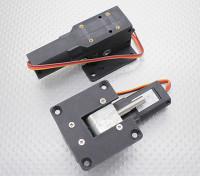 Servoless retrair com Metal Trunion 44 milímetros x 41mm de montagem (2pcs)